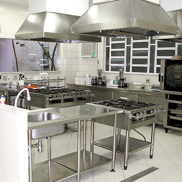 Commercial Stainless Steel Kitchen Cabinets: Custom Commercial Kitchen Washington